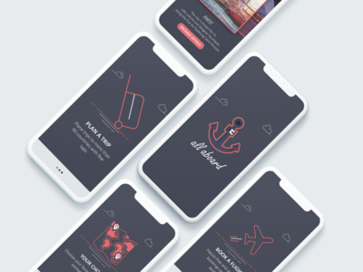 Travel Booking App app uidesign logo flat branding vector illustration design ui