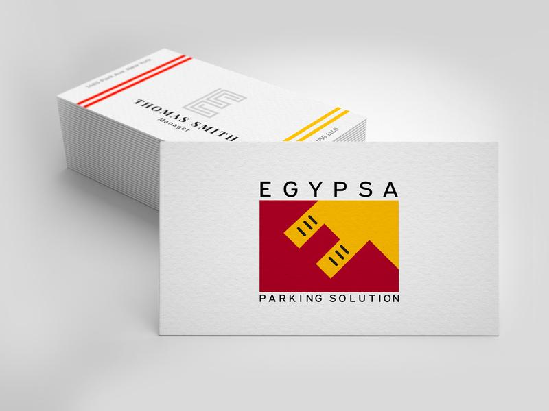 Egypsa flat vector logo branding illustration design
