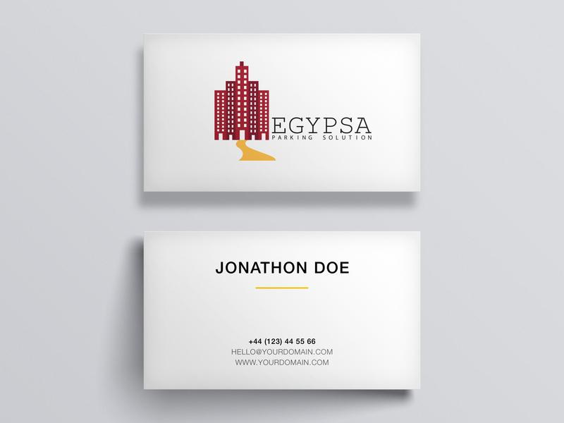 Egypsa branding logo typography illustration vector design