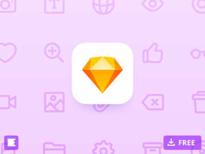Evericons (alpha version) free download library sketch icon evericons