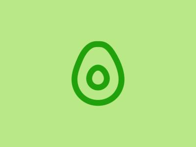 Evericons Everyday #002 avocado icon evericons