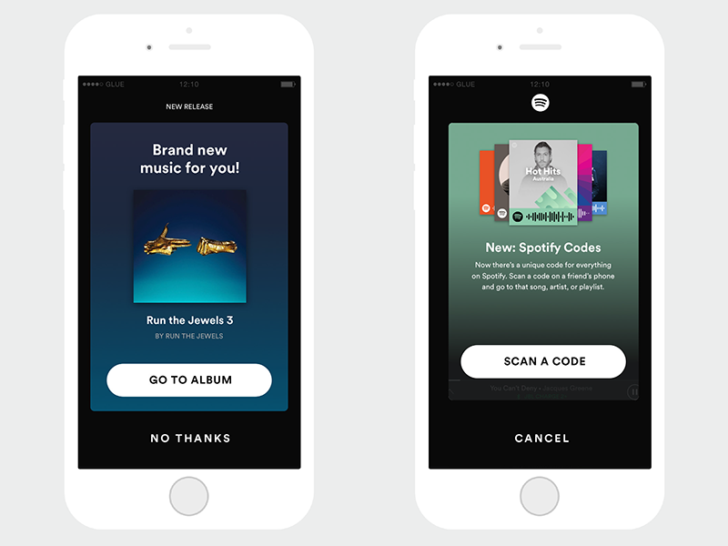 Spotify Notifications – New Music and New Feature by Daniel Choe on