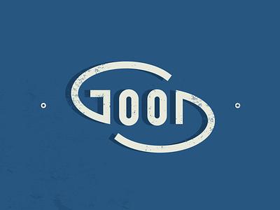 We Good good typography illustrator badge vector logo brand identity flat minimal branding design
