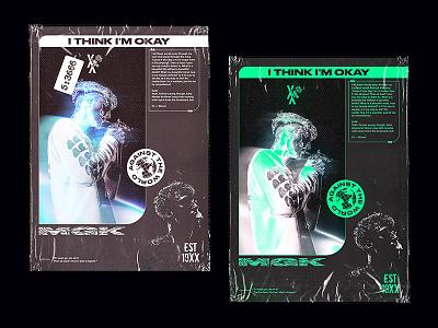 Poster MGK Concept hip-hop poster graphic concept art adobe typography digital photoshop design