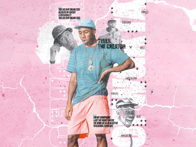 Tyler Poster Concept poster poster design rap hip-hop igor tyler tyler the creator graphic concept advertising adobe illustration art typography digital photoshop design