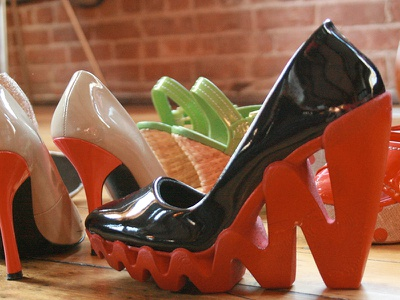 ZIG Wedge Concept reebok high heel shoe footwear sneaker