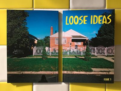 Loose Ideas Magazine   Issue 1 type illustration photography graphic design page layout design magazine