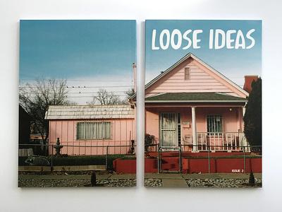 Loose Ideas Magazine   Issue 2 type photography page layout magazine illustration graphic design design