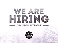 We're Looking for a Junior Illustrator