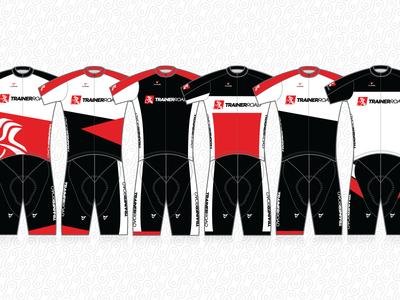 TrainerRoad Kits branding vector logo cycling bike jersey kit