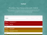 Hotlist For Basecamp