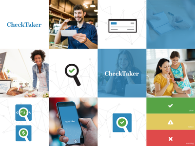 CheckTaker Branding micr validate check money logo branding