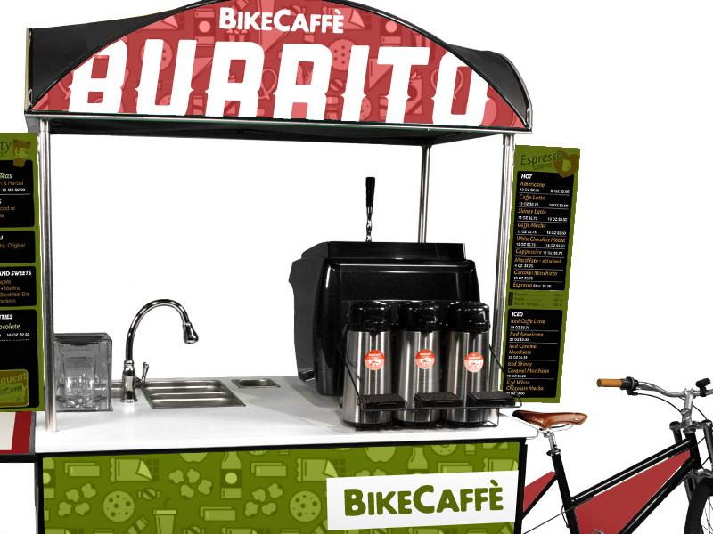Bikecaffe burrito concept