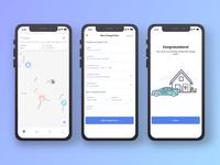Free Car Services App UI Design
