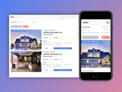 Real Estate Responsive Website