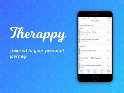 Therappy App UI