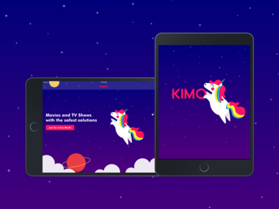 KIMO - TV Show and Movie Streaming Tablet App