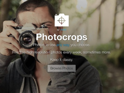 Introducing Photocrops.com creative commons free photos photo crops