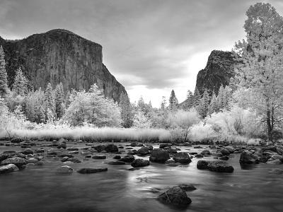 Yosemite Infrared Creek creative commons photocrops infrared creek yosemite photography image photo