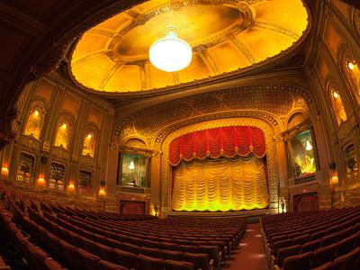 Inside Classic Movie Theatre