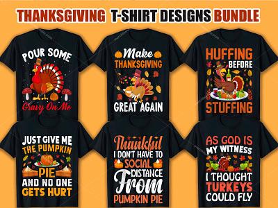 Thanksgiving T Shirt Design Bundle graphic