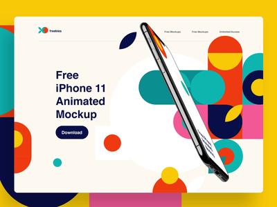 Free Animated Mockup diy mockup iphone logo sketch mock-up freebie free download psd mockup