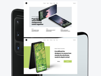 Galaxy S20 Mockups photoshop figma sketch mock-up download psd mockup