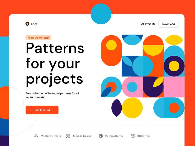 Free Paaatterns ui download free freebie pattern art patterns pattern illustration design