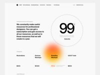 Unlimited Access Exploration landing unlimited design ux ui typography