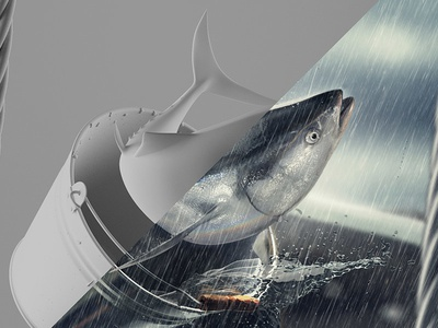 Fish visualisation fish render retouch 3d