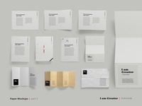 Paper Packs Mockups