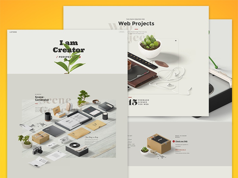 I am Creator / Perspective 2, Presentation by Ruslanlatypov