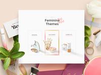 Feminine Themes, Mockup Scene Generator