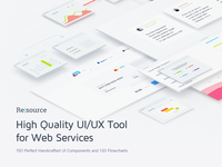 Resource | High Quality UI/UX Tool for Web Services