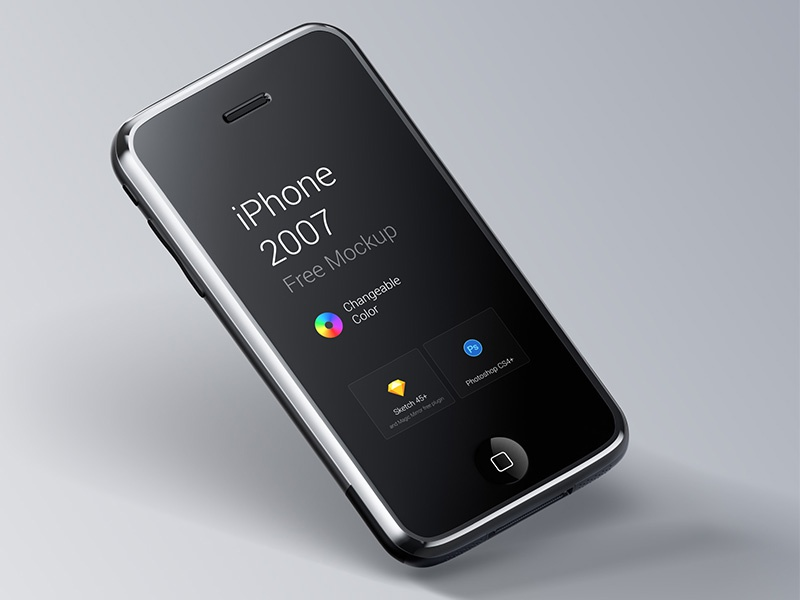free 2007 iphone mockup by ruslanlatypov