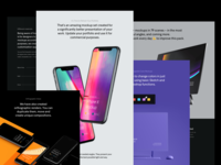 Presentation Kit, Behance presentation