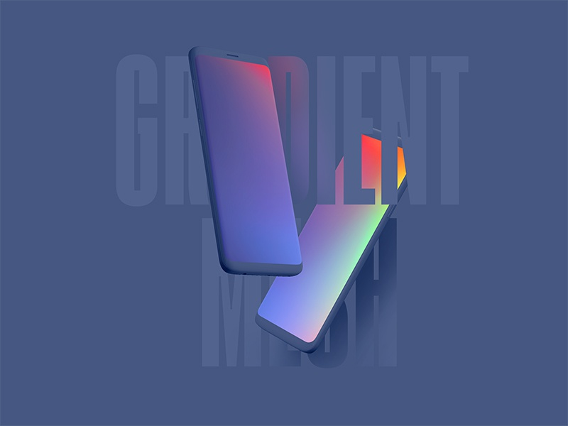 Free Gradient Mesh Pack free freebie gradient mesh download illustrator sketch