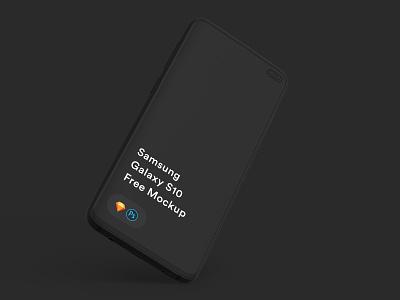 Free Samsung Galaxy S10 Mockup diy mockup sketch mock-up freebie download psd free mockup
