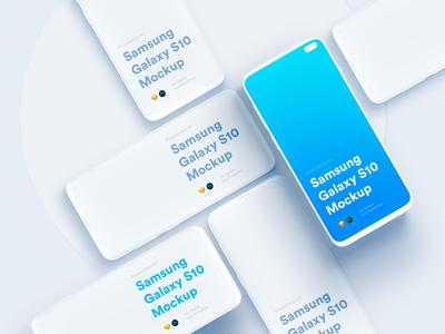 Samsung Galaxy 10+ Mockups