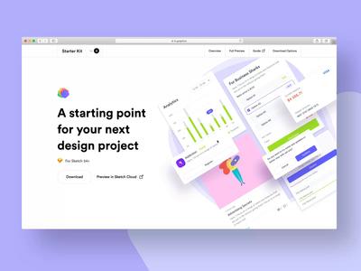 Webpage for Design Starter Kit