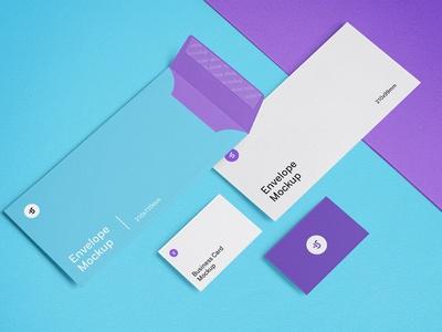 Free Envelope and Business Cards Mockups envelope card businesscard diy mockup design freebie mock-up download psd free mockup