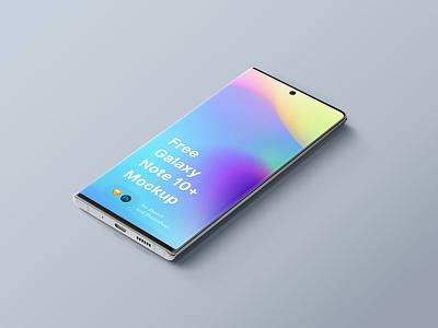 Galaxy Note 10 Mockup galaxy note galaxy design download ui sketch mock-up freebie mockup psd free