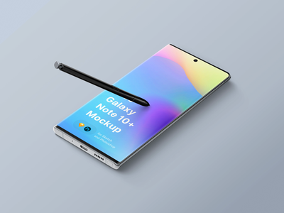 Galaxy Note 10 Mockup galaxy note galaxy design download ui sketch mock-up freebie mockup psd free