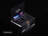 Free Long Scroll MacBook Mockup