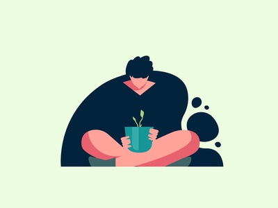 Learning to Grow UI Spot Illustration