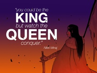 You could be the king...