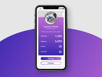 Daily UI #006 : User Profile