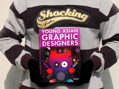 Young Asian Graphic Designer