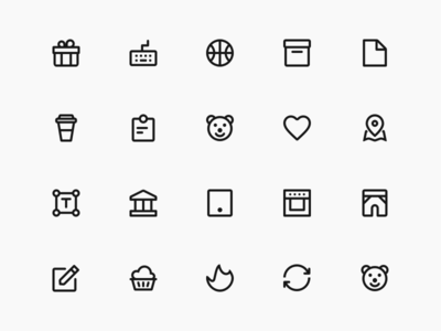 250+ Perfect Vector Icons app store ios11 gui flat icons web design mobile ux ui android branding ios illustration icons logo