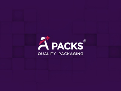 Aplus Packs - Quality Packaging - Logo - Copees 04 typography logo minimalism branding